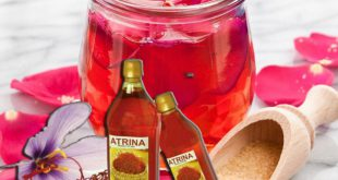 انواع مایع زعفران آترینا