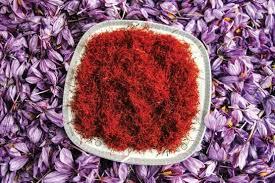 رنگ پودر زعفران