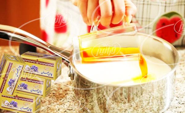به صرفه ترین قیمت چای جهان زعفران