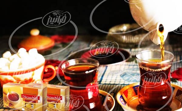 قیمت چای زعفرانی شاهسوند پوشش دار