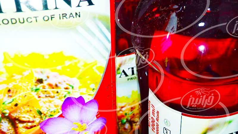 تحویل عصاره زعفران از درب کارخانه