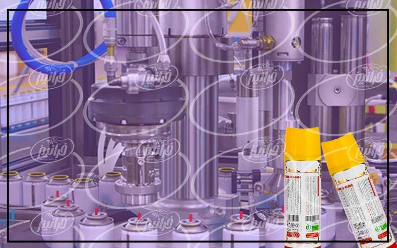 ساخت اسپری زعفران طبق استاندارد اروپا
