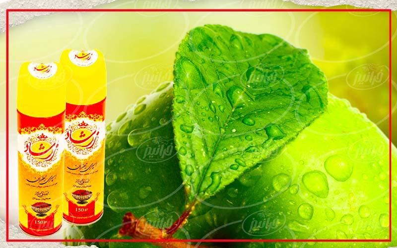 قیمت اسپری زعفران زرشاد جهت صادرات به عمان