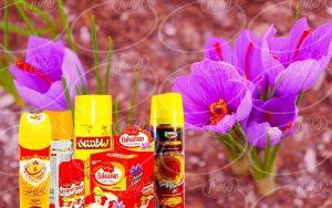 سفارش انواع اسپری زعفران 110 گرمی