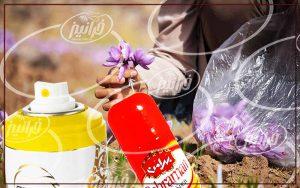 قیمت افشانه زعفران