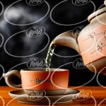 خرید چای سبز زعفرانی