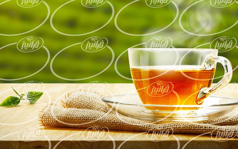 خرید چای کیسه ای زعفران