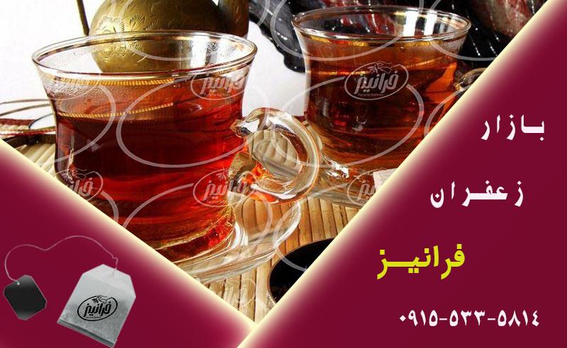 قیمت بهترین چای زعفران شاهسوند قرمز