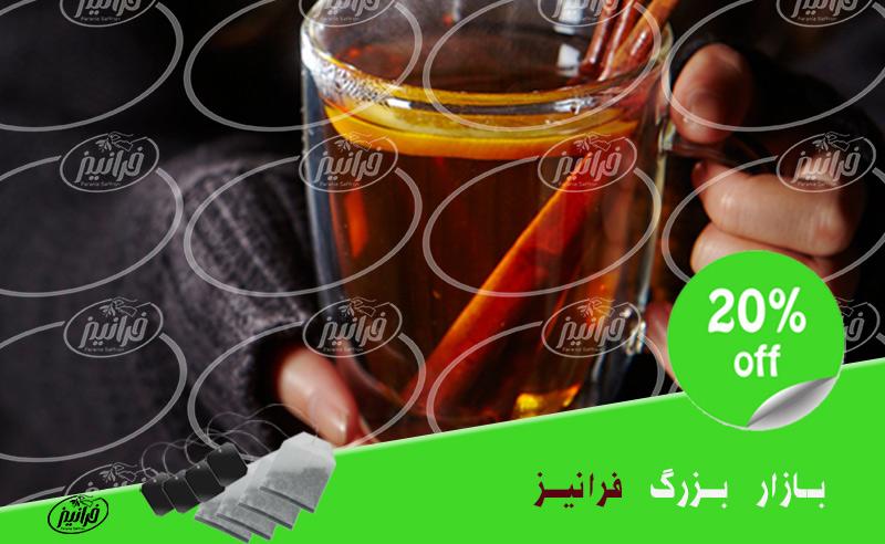 فروش چای زعفران ۱۰۰ درصد طبیعی