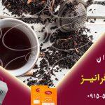 صادرات چای سیاه زعفرانی سحرخیز به عراق