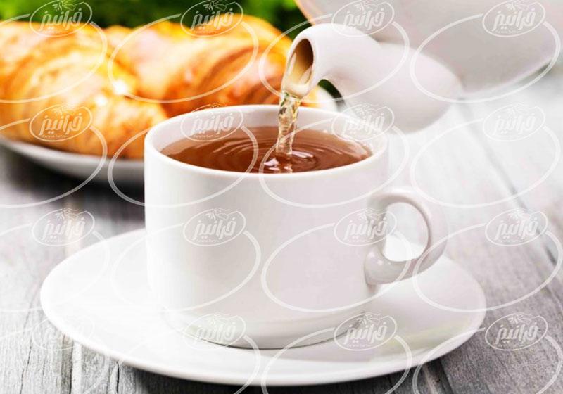 چای زعفران مصطفوی