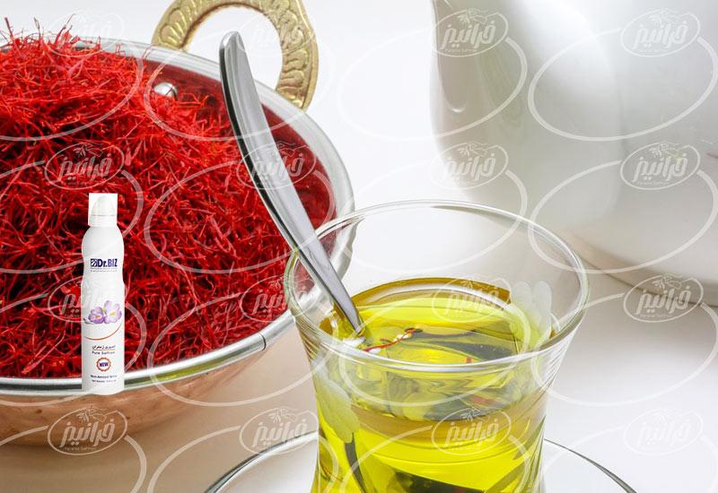 خرید اسپری زعفران شرکت بیز 200 میلی لیتری