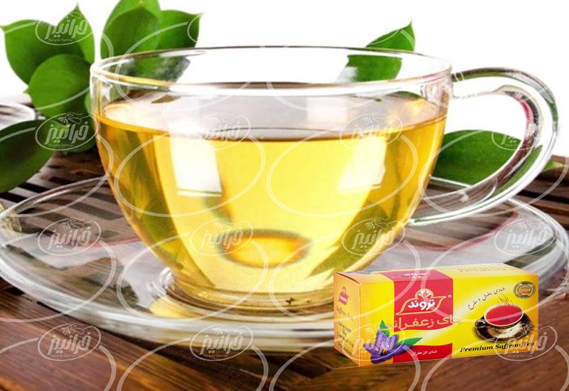 خرید چای زعفرانی تروند با بهترین قیمت