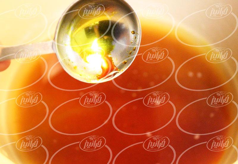 فروش چای زعفرانی با خدمات ویژه