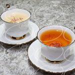 در آمد سالانه حاصل از فروش چای زعفران