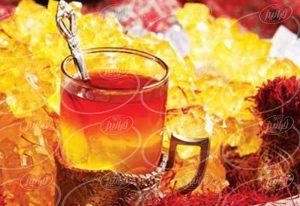 خرید اینترنتی چای زعفرانی با بسته بندی تی بگ